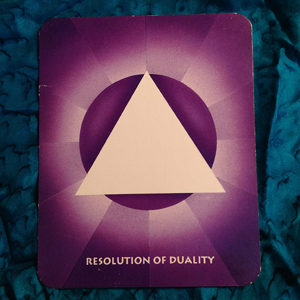 Resolution of Duality